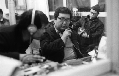 Imamura (center) in A Man Vanishes (1967)