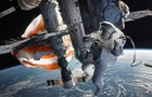 In <i>Gravity</i>, George Clooney and Sandra Bullock are lost in space