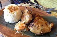 Calamansi-marinated birds at Bacolod Chicken Haus