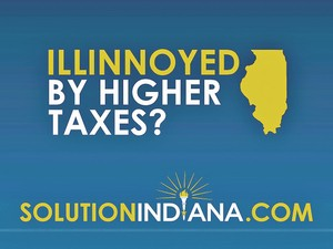 Indiana asks if you're Illinoyed. (image via Fort Wayne Business Weekly)