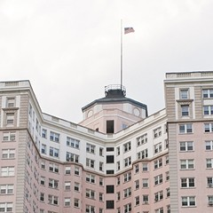 Inside the Pink Palace of the Edgewater Beach Apartments