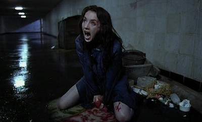 Isabelle Adjani, giving birth to something awful, in Possession