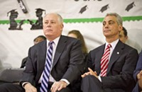 Governor Quinn stands up to Mayor Rahm
