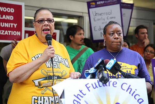 It turns out that the bankers at Goldman Sachs and Chicago Teachers Union president Karen Lewis agree: smaller class sizes help the learning process.