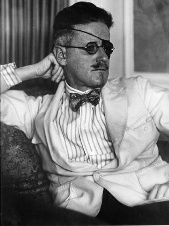 James Joyce, who may have eaten tuna while writing Ulysses