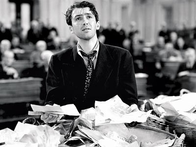 James Stewart in Mr. Smith Goes to Washington