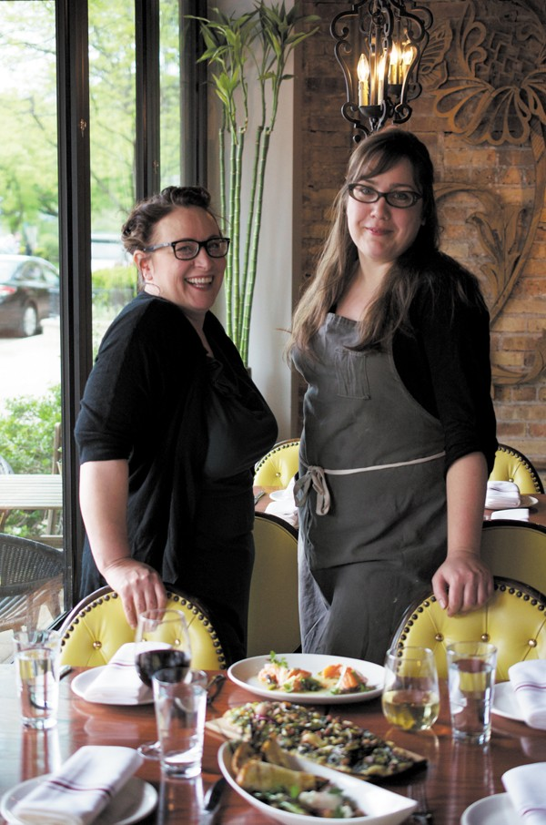 Jan Henrichsen, who oversees the bar and the front of the house, and chef Nicole Pederson