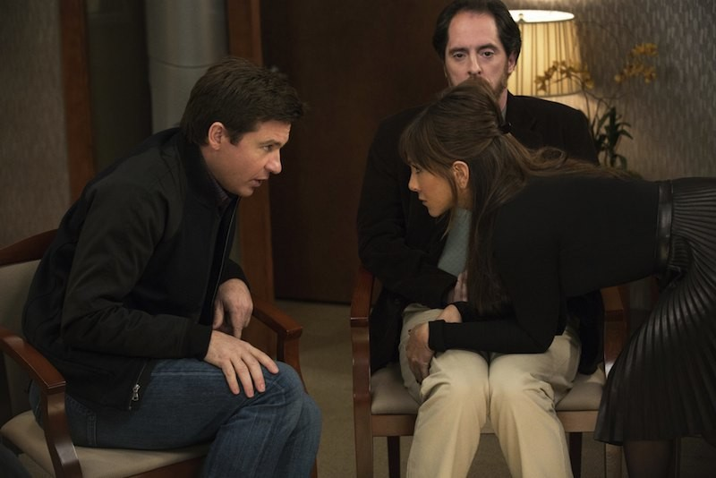 Jason Bateman and Jennifer Aniston in Horrible Bosses 2