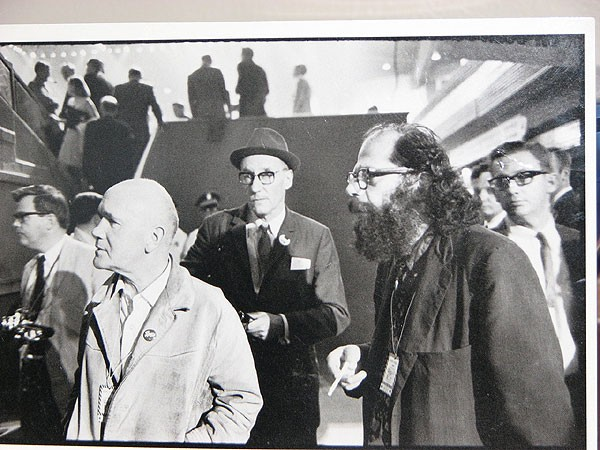 Jean Genet, Terry Southern, William S. Burroughs