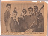 Jerry Mundo (second from left) with his group the Galaxies - FROM THE COLLECTION OF JAKE AUSTEN