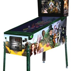 Jersey Jack Pinball's Wizard of Oz machine