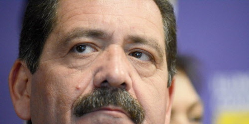 "Jesus ""Chuy"" Garcia was blindsided by the jaywalking allegations."