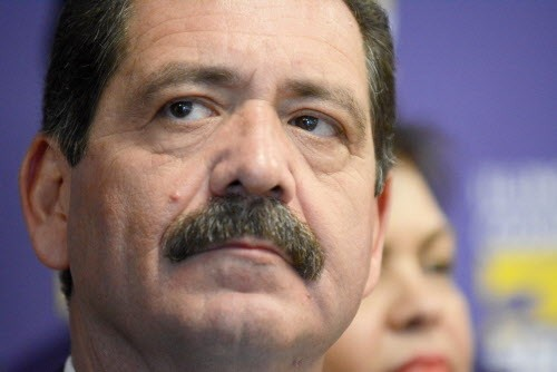 Jesus Chuy Garcia was blindsided by the jaywalking allegations.