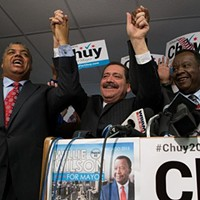 Willie Wilson's on-again, off-again endorsement of Jesus 'Chuy' Garcia is official—for now