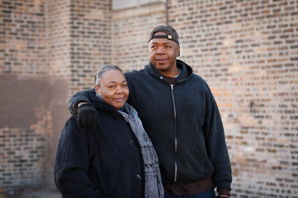 Jo Ann Henson hadn't yet been born when her father Joe was shot to death on a south-side street. Her brother Mark was three. - MICHAEL BOYD