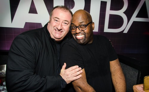 Joe Shanahan and Frankie Knuckles