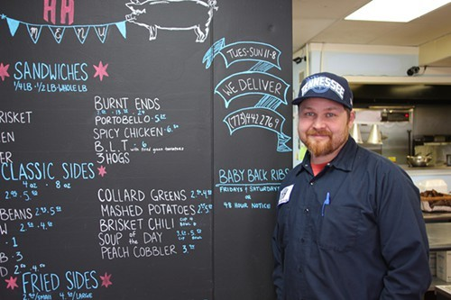 Joe Woodel of Husky Hog BBQ