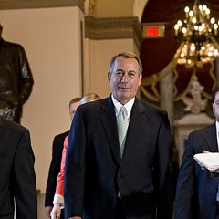 John Boehner (pictured on Capitol Hill today) could learn a few things from Dan Rostenkowski.