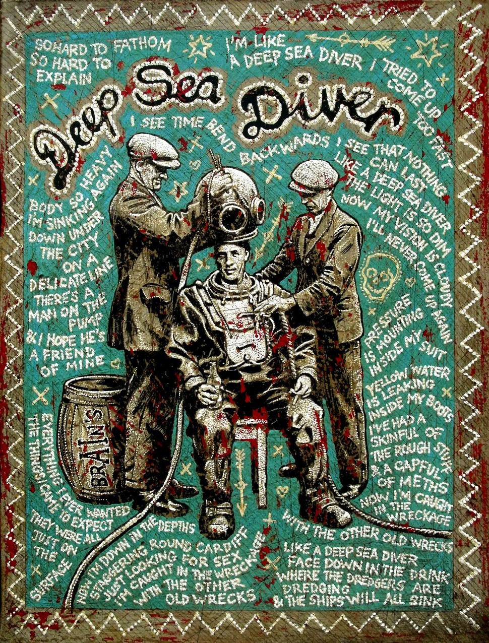 Jon Langford, Deep Sea Diver
