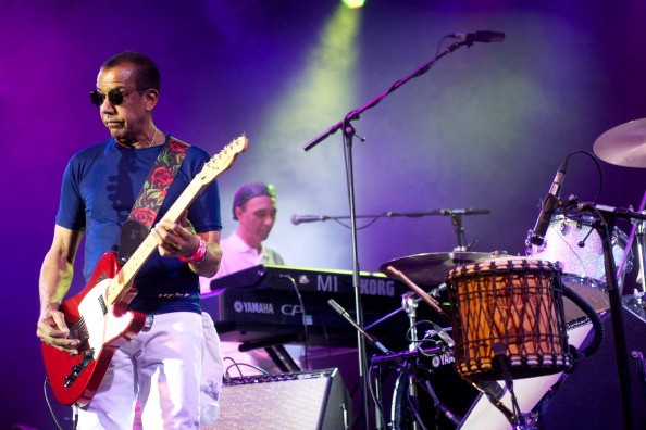 Jorge Ben Jor performs in London.