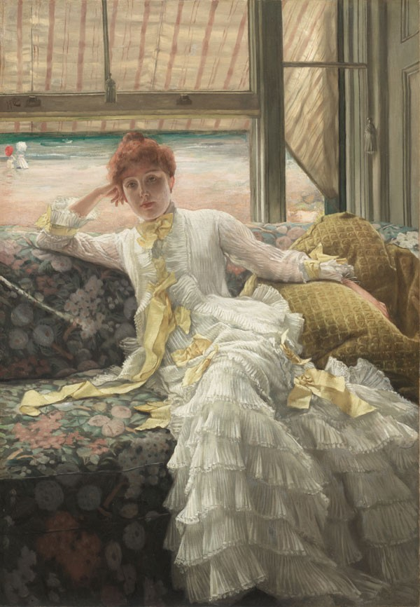 July: Specimen of a Portrait, by James Tissot