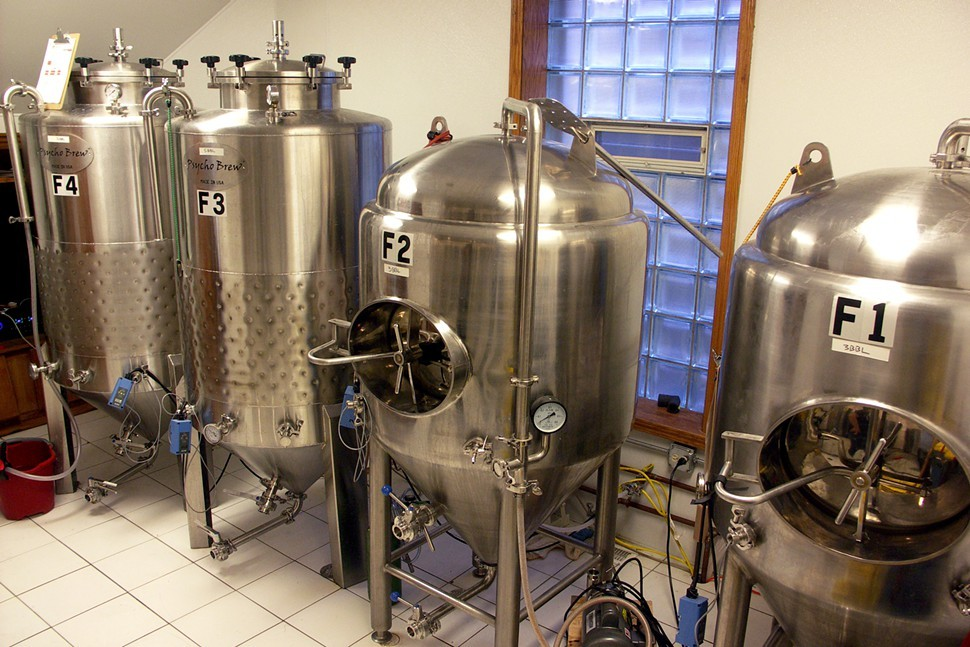 Just look at those adorable little fermentation tanks!