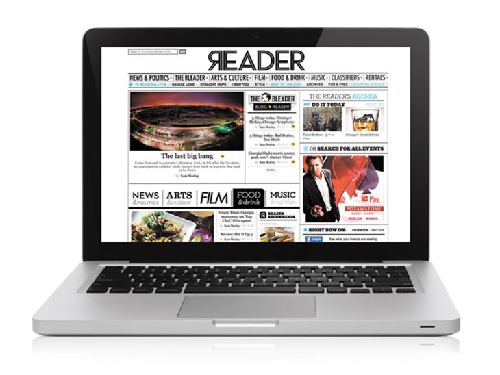 A tour of the new ChicagoReader.com
