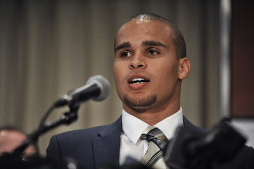 Kain Colter, the public face of a movement to unionize college football players