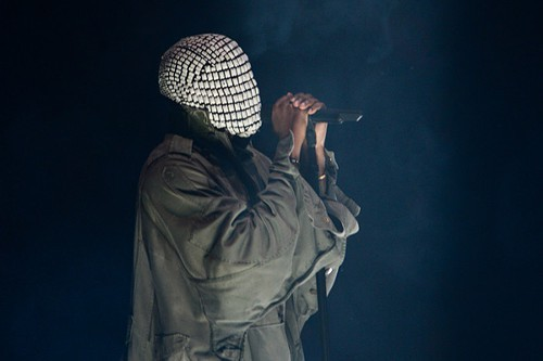 Kanye West is under that mask.