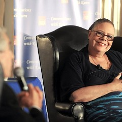 Karen Lewis still hasn't officially announced her candidacy.