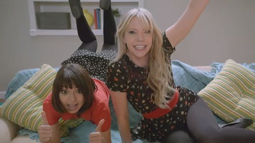 Kate Micucci and Riki Lindhome are Garfunkel and Oates