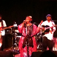 Mali's Khaira Arby Delivers at Reggie's