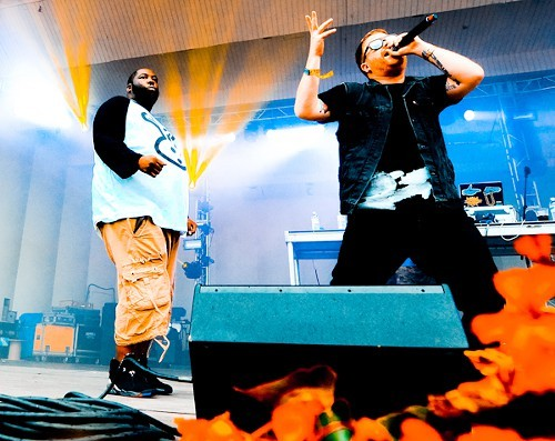 Killer Mike and El-P, aka Run the Jewels