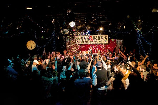 Kiss Kiss Cabaret, just one of the events listen in our New Years Eve guide