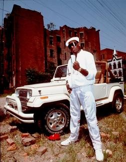Kool Moe Dee looking amazing as usual