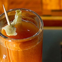 Kuma's Corner crafts a caramel-apple cocktail—with a miso kick