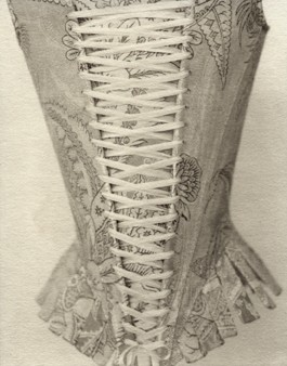 Laced Corset 18th Century by Tanya Marcuse