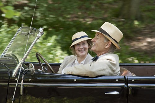 Laura Linney and Bill Murray in Hyde Park on Hudson
