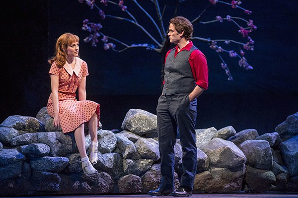 Laura Osnes and Steven Pasquale