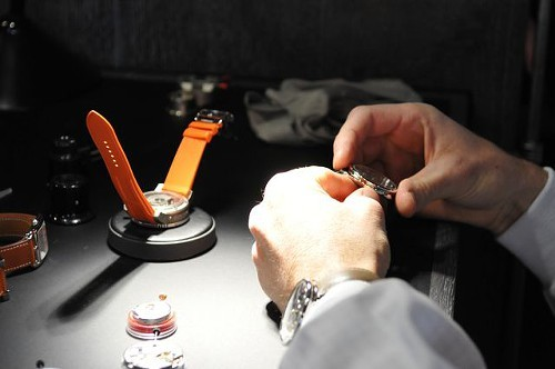 Making a Hermes watch