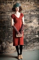 Local designer Lara Millers wares are featured at the Clever Alice pop-up shop