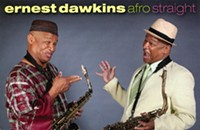 Local saxophonist Ernest Dawkins plays it <em>Afro Straight</em>