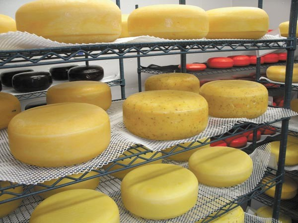Ludwig's cheeses run the gamut from Gouda to Kickapoo