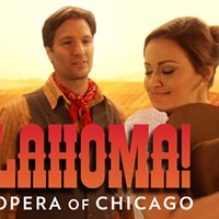 Lyric Opera of Chicago is getting miked for <i>Oklahoma!</i>