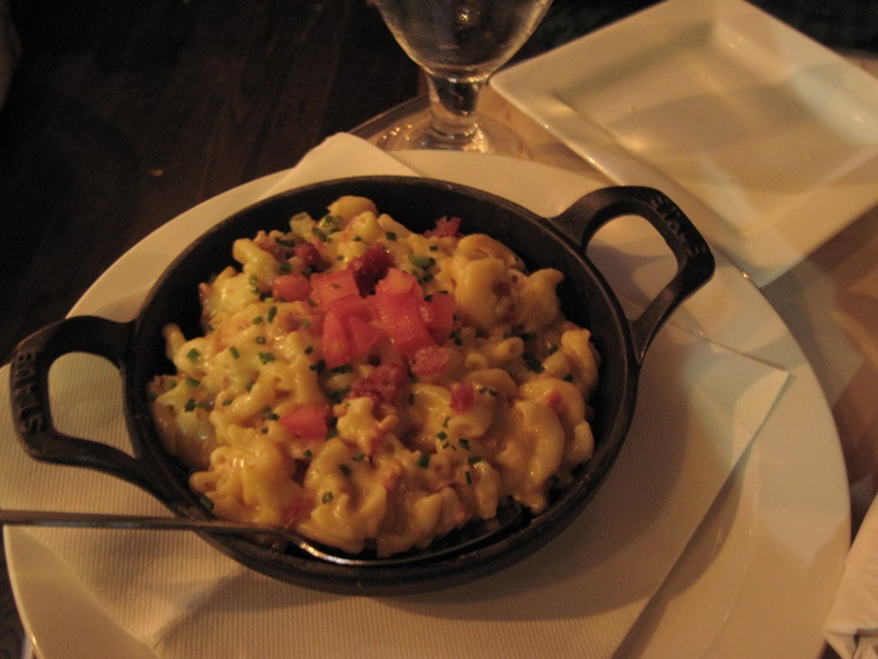 Mac n cheese: blurry, yet accurate