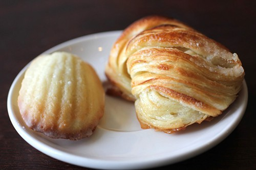 Madeleine and kouign-amann.