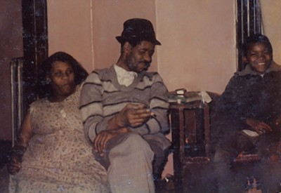 Mailey with his mother and father. He thinks he was about nine. - COURTESY DAVID MAILEY