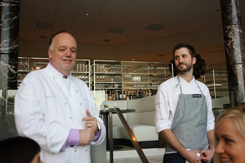 Mantuano and executive chef Chris Marchino introduce our first courses.
