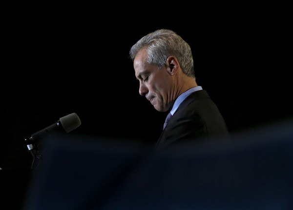 Mayor Emanuel received less than the majority needed to avoid a runoff.