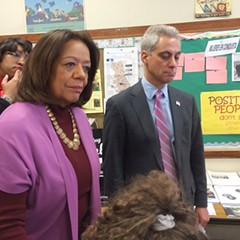 Mayor Rahm Emanuel and Chicago Public Schools CEO Barbara Byrd-Bennett haven't found a way to hire school librarians.